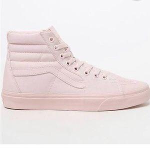 'Heavenly Pink' Vans